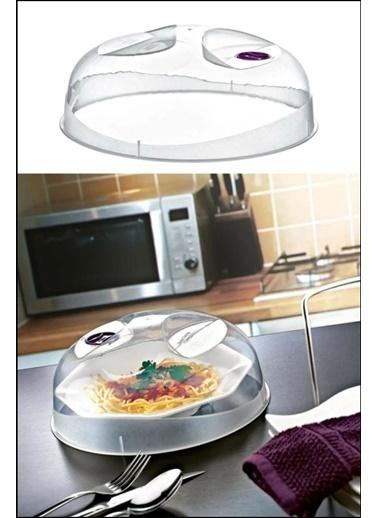 Kitchen Love 24Cm-Plastik Microdalga Koruyucu Kapak Renksiz